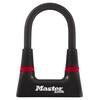 Masterlock 8278 Bügelschloss 14 mm x 150 mm x 80 mm schwarz